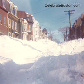 The Blizzard of 1978, a Buried Street in East Boston