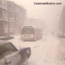 January Storm Before the Blizzard of 1978