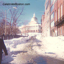 Park Street After the Blizzard of 78