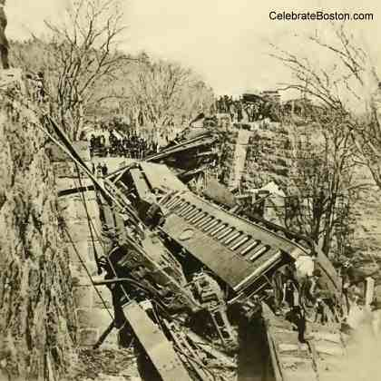 Bussey Bridge Destroyed Cars