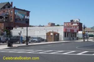 Site Of Luongo's Restaurant Fire in East Boston