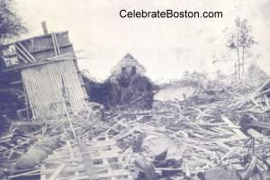 Tewksbury Explosion Destruction