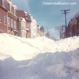 Buried Street After Blizzard of 78