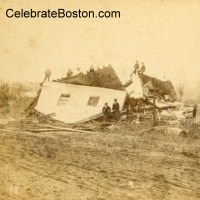 Wallingford Tornado Destruction