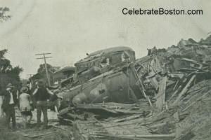 West Canaan Wreck, 1887