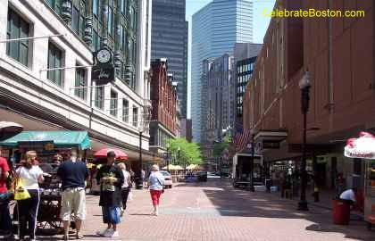 Downtown Crossing Summer Street Boston