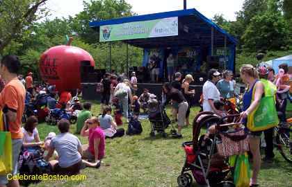 Kids Planet Stage at the EarthFest 2010