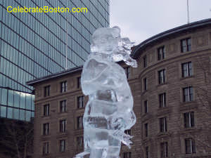 First Night Boston, Ice Sculpture