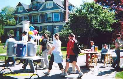 Walk For Hunger Water Station