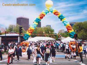 Walk For Hunger Finish Line, Boston Common
