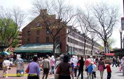 Faneuil Hall Marketplace Quincy Market Photos