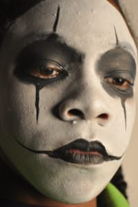 Face Painting The Crow