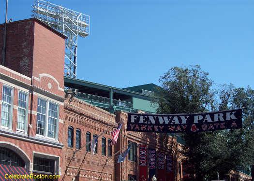 Fenway Park Yawkey Way Banner