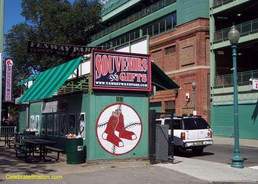Fenway Park Souvenir Stand