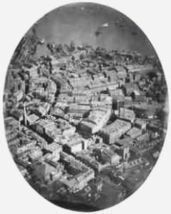 J.W. Black First Aerial Photo Boston, 1860