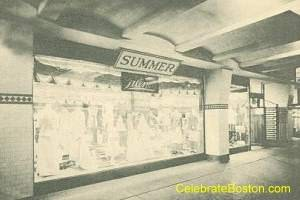 Old Subway Filenes Display Window