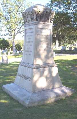 Andrew Jackson Borden's Marker