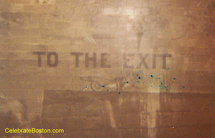 Old Court Street Station The Exit Sign