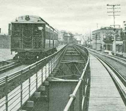 Elevated Train in the South End