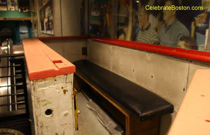 Old Boston Garden Penalty Box