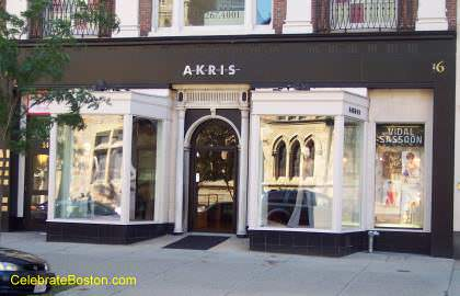 Akris Boutique, 16 Newbury Street Boston