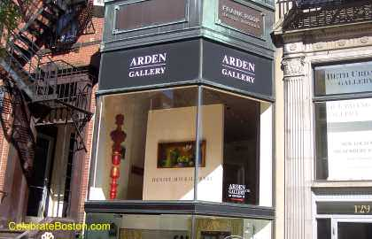 Arden Gallery, 129 Newbury Street Boston