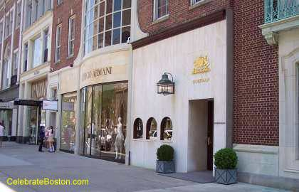 Armani Store Newbury Street