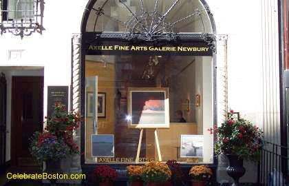 Axelle Fine Arts, 91 Newbury Street Boston