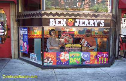 Ben & Jerry's, 174 Newbury Street Boston