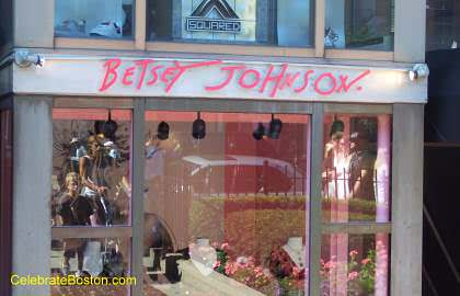 Betsey Johnson, 201 Newbury Street Boston