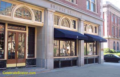 Brooks Brothers, 46 Newbury Street Boston