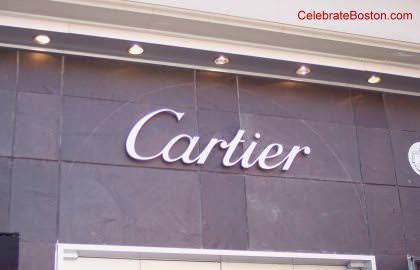 Cartier, 40 Newbury Street Boston