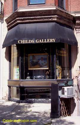 Childs Gallery, 169 Newbury Street Boston
