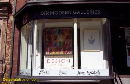 DTR Modern Galleries, 167 Newbury Street Boston