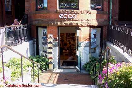 Newbury Street Boston Shoe Stores