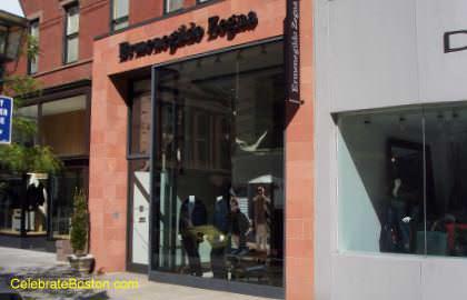 Ermenegildo Zegna, 39 Newbury Street Boston