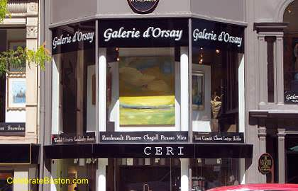 Gallery d'Orsay, 33 Newbury Street Boston