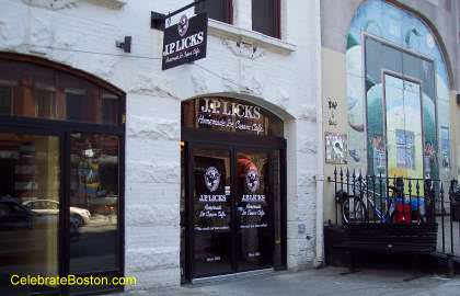 J. P. Licks Homemade Ice Cream Cafe, 352 Newbury Street Boston