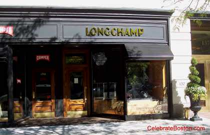 Lonchamp Paris, 139 Newbury Street Boston