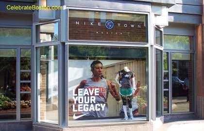 Nike Town, 200 Newbury Street Boston