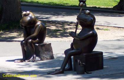 Boston Common Frog Statues
