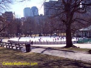 Boston Common Ice Skating
