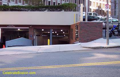 1 Center Plaza Garage, Somerset Street Entrance