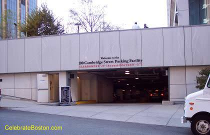 100 Cambridge Street Garage, Entrance on Somerset Street