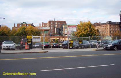 1081 Boylston Street Parking Lot, near Mass Ave Boston