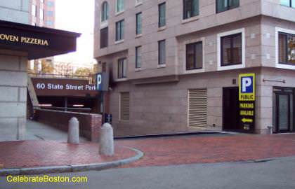 60 State Street Garage, Merchants Row Entrance