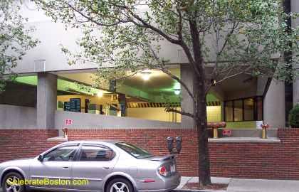Hilton Back Bay Garage, 40 Dalton Street Boston
