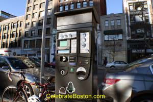 Parking Pay Station at Some Locations