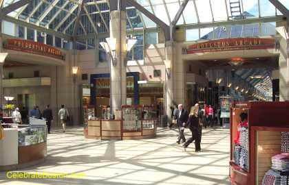 Prudential Center Central Atrium