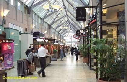 Prudential Mall Looking Toward Boylston Street
